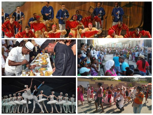 A ritmo de folclor cubano cerró en Camagüey Semana de la Cultura