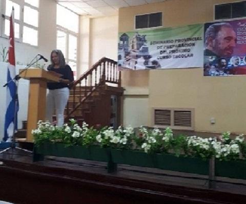 Reconocen alternativas para completar la cobertura docente en Camagüey