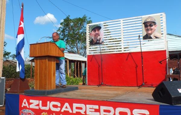 Enrique Sosa Nieves rememoró la presencia del líder sindical azucarero Jesús Menéndez en la comunidad Moscú.