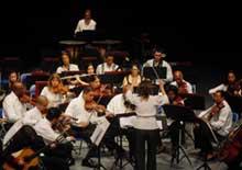 Disfrutan agramontinos presentación de la Orquesta Sinfónica de Camagüey