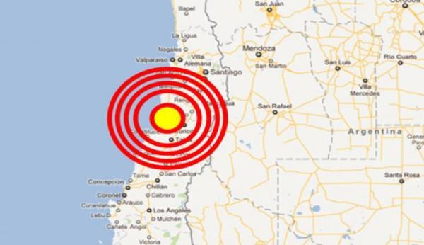 Sacudido el norte de Chile por sismo de 6,3 grados Richter