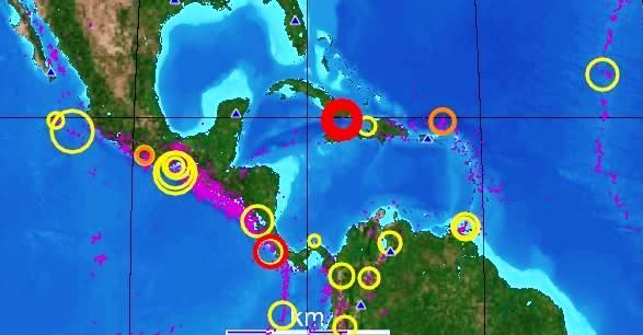 Atentos en Cuba a comportamiento sísmico en la región