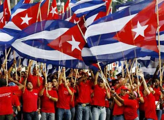 Juventud cubana reafirma su respaldo a la Revolución socialista