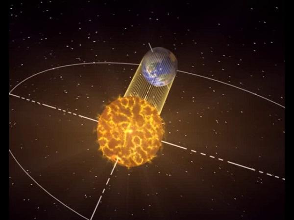 La Tierra estuvo hoy más lejos del Sol y se movió más lento