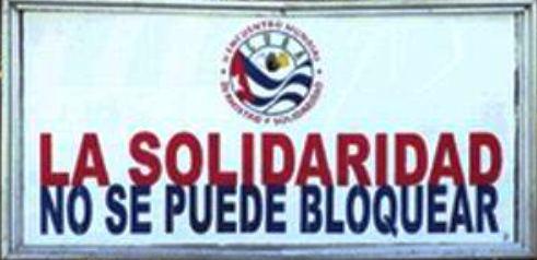 Mandatarios reclaman el cese del bloqueo de Estados Unidos contra Cuba