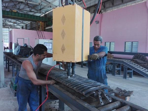 Presta servicios en Camagüey moderna planta para reparar rodajes
