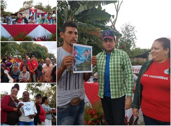 Pensamiento colectivo para el trabajo integrado en comunidad camagüeyana de Imías