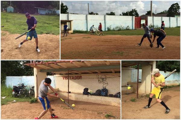 Entrena equipo de Camagüey para torneo de Softbol de la Prensa cubana