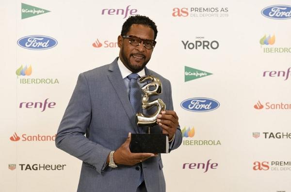 Cubano Sotomayor dice estar honrado con premio español Leyenda de los deportes (+Fotos)