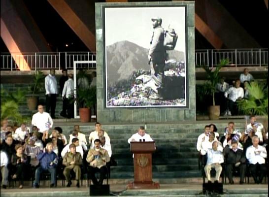 Dignitaries and Personalities Pay Tribute to Fidel in Santiago de Cuba