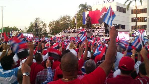 Sancti Spiritus Honors Fidel Castro on Day of National Rebellion