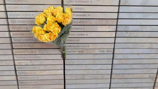 Inscriben a Fidel Castro en monumento homenaje en Sudáfrica