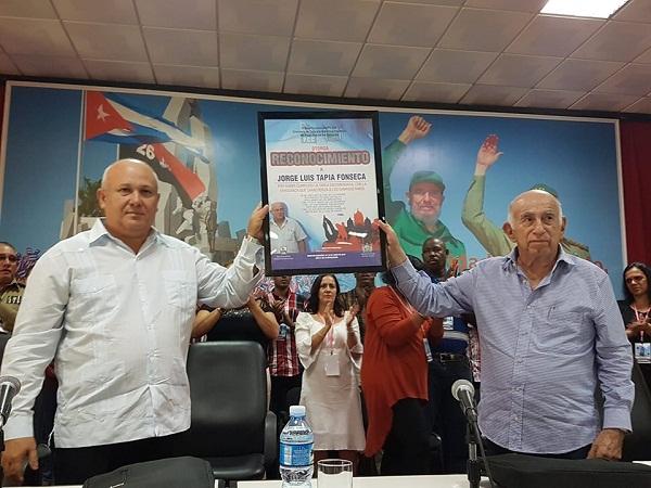 Reconocen desempeño de Jorge Luis Tapia Fonseca en la dirección política de Camagüey
