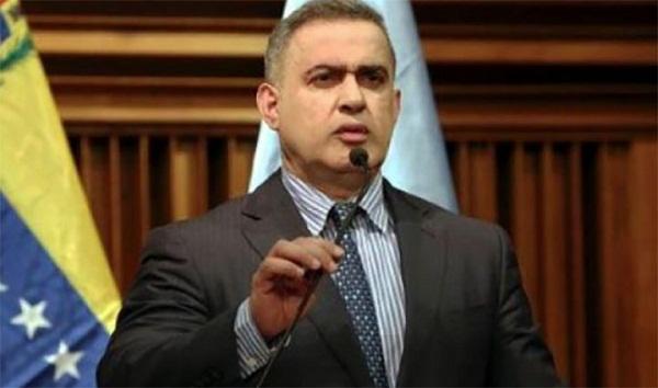 Golpistas venezolanos serán juzgados como traidores a la patria, dice Fiscal General