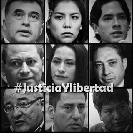 Exige Evo Morales liberación de miembros de su gabinete presidencial