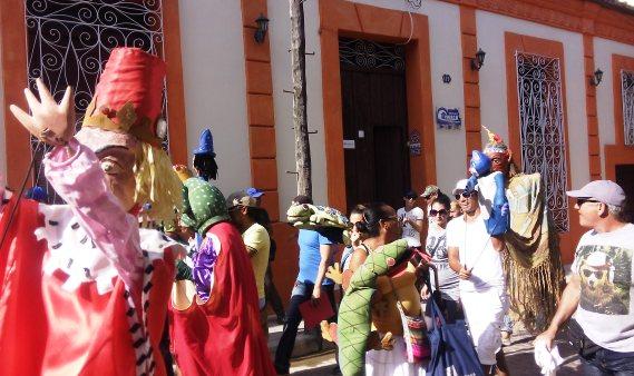 Fiesta de títeres en aniversario 55 del Guiñol de Camagüey