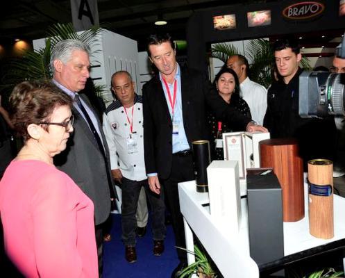 El desarrollo de la Industria Alimentaria es estratégico para Cuba, aseguró Díaz-Canel