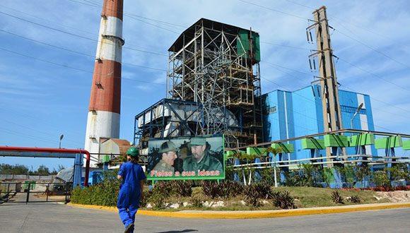 Central Termoeléctrica Antonio Guiteras sincroniza al sistema electroenergético nacional