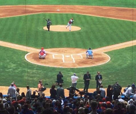 Lazo y Tiant lanzan primera bola en tope amistoso entre Cuba y Tampa Bay