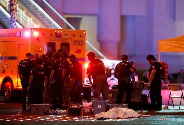 Asciende cifra de muertos y lesionados por tiroteo en Las Vegas