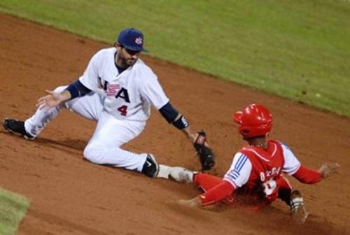 Cuba y Estados Unidos a primer duelo en tope de Béisbol