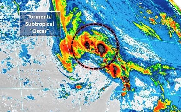Se formó en el Atlántico tormenta subtropical Oscar; no representa peligro para Cuba
