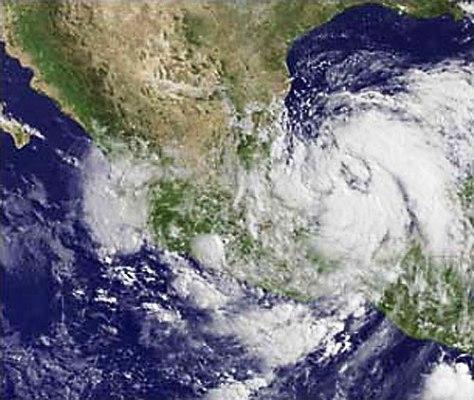 Nueva depresión tropical se forma en el golfo de México