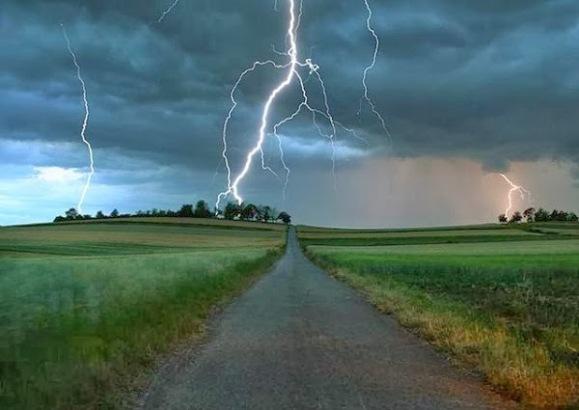Continúan en Camagüey chubascos y tormentas eléctricas en la tarde