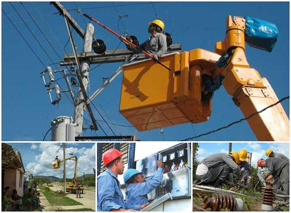 Trabajadores camagüeyanos del sector eléctrico festejan su día