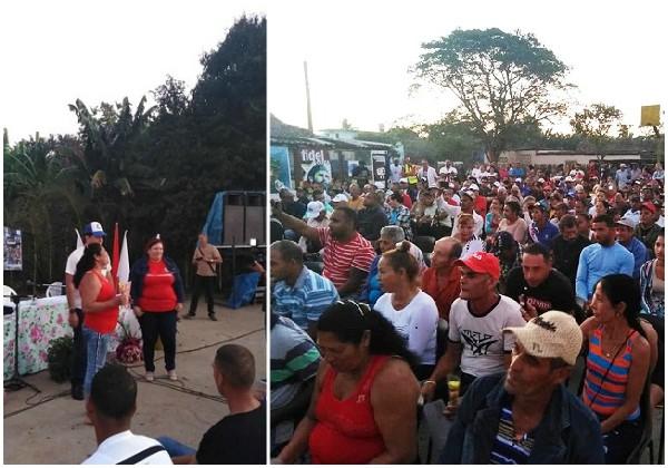 Chequean resultados del trabajo comunitario integrado en comunidad camagüeyana El Chorro (+ Post y Fotos)