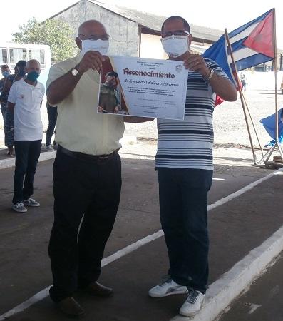 Reconocen en Camagüey quehacer de trabajadores del transporte frente a la pandemia