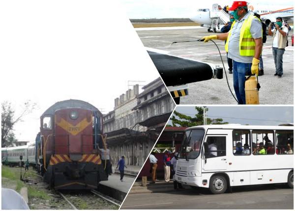 Sector del Transporte en Camagüey amplía medidas sanitarias