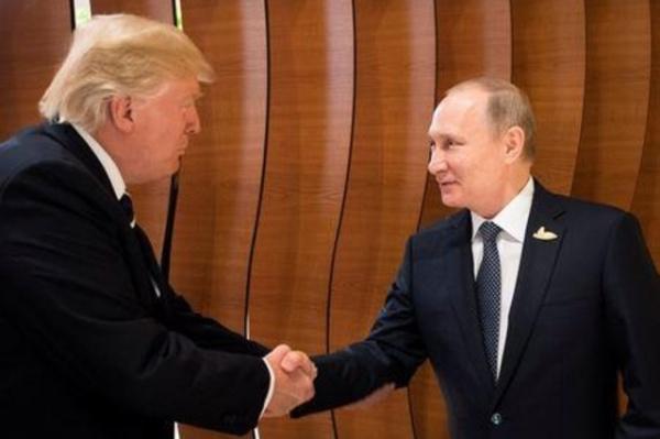 Trump y Putin reunidos en Hamburgo