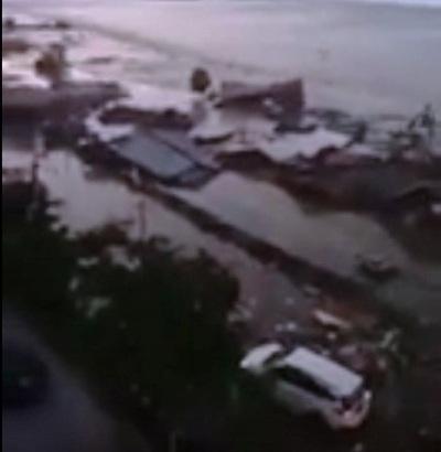 Tsunami en ciudad indonesia de Palu tras fuerte sismo (+ Video)