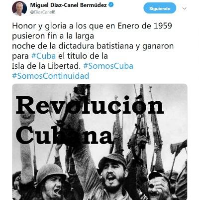 Ensalza Presidente cubano victoria del Primero de Enero de 1959