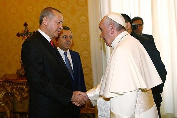 Turquía y el Vaticano coinciden en defender estatus de Jerusalén