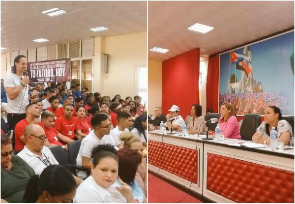 Resalta Primera Secretaria de la UJC ejemplaridad de la juventud camagüeyana (+Fotos)
