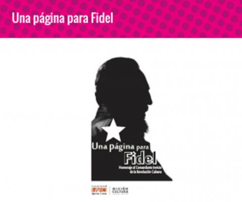 Presentan en Venezuela texto digital Una Página para Fidel
