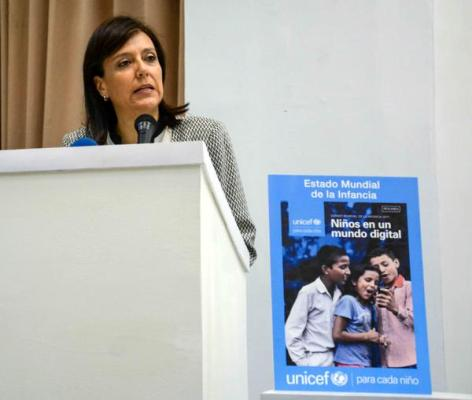 UNICEF Praises Cuba's Support in the Attention of Children in the Digital Era