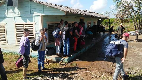 Universidad de Camagüey apoya la recuperación en Sierra de Cubitas
