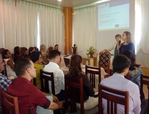 Sesiona en Camagüey taller sobre internacionalización entre universidades europeas y latinoamericanas