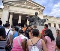 Lista Universidad de La Habana para iniciar curso 2013-2014