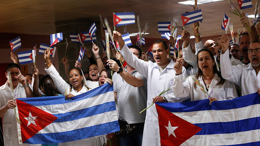Cuban doctors: example of humanism and greatness