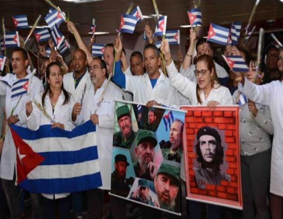 Resalta Bruno Rodríguez vocación humanista de colaboración médica cubana