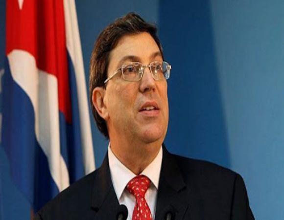 Bruno Rodríguez agradece apoyo de Venezuela contra bloqueo