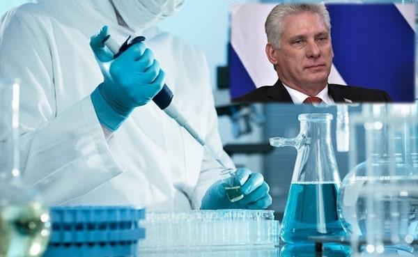 Agradece Díaz-Canel labor de científicos cubanos frente a la COVID-19