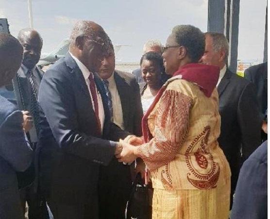 Vicepresidentes cubanos continúan gira por África