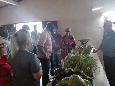 Recorre en Camagüey Valdés Mesa sitios vinculados a la producción de alimentos (+Fotos)