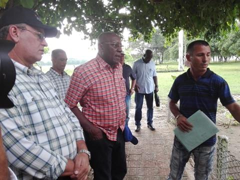 Valdés Mesa llama en Camagüey a incrementar rendimientos agrícolas (+Fotos)