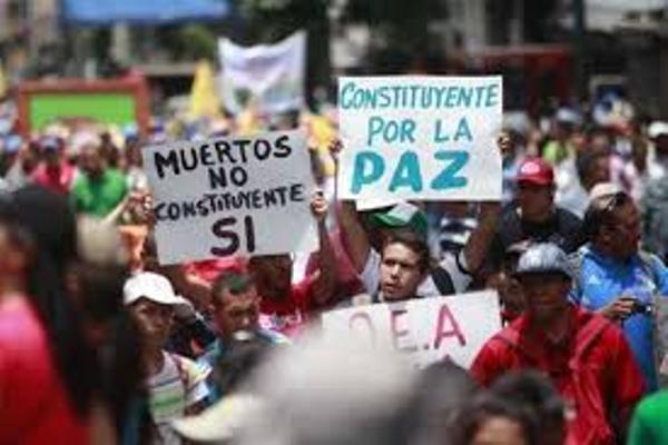 Venezuela: democracia participativa vs. violencia opositora